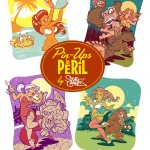 Pin-Up In Peril Poster Series Vol. 1